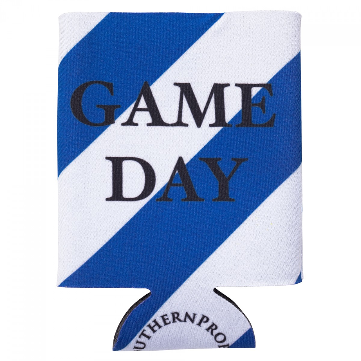 Blue & White Gameday Coozie